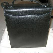 100% Legit Gucci Classic Black Leather Purse  Photo