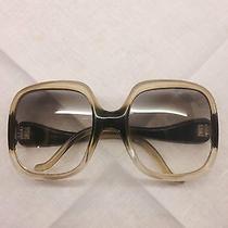 100% Original Balenciaga Vintage 1970s Large Sunglasses Frame France - Unique - Photo