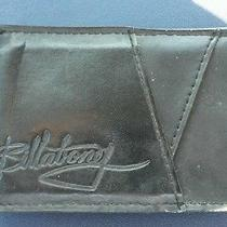 100% Original Billabong Money Clip Wallet-Black Photo