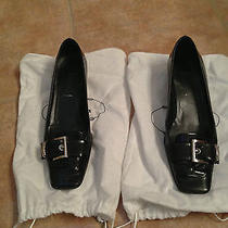 100% Prada Kitten Heel Shoes Size 7.5 Photo