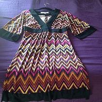100% Silk Absolutely Beautiful Trina Turk Dress Photo