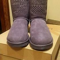 100%Ugg Authentic Guaranteed Brand New Womens Classic Shot Bling Boots Sz 9 Photo
