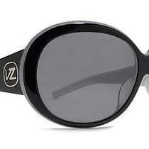 100 Von Zipper Frenzy Black White Sunglasses Su9230 Photo