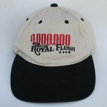 1000000 Ultimate Royal Flush Baseball Cap Hat Boomtown Casino Reno Adjustable Photo