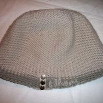 1001  Billabong Gray Acrylic Knit Beenie Hat Cap - One Size Photo
