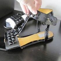 1045 Lanvin Patent Leather Sandals Sz. 8 Photo