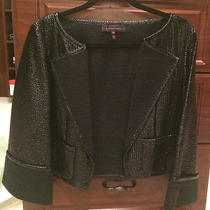 1050 Escada Black Label Black Jacket  Size36 Photo