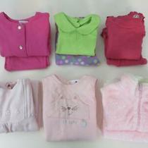 10pc Lot Girls Tops Pants Gymboree Talbots Kids Laura Ashley One-Piece Size 6m Photo