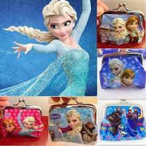 10x Lots Disney Cartoon Fantasy Frozen Purses Wallets Children Gifts Multi Color Photo