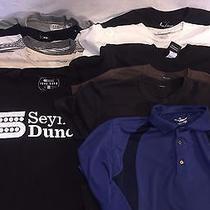 11 Piece Lot Mens Size Large Short Sleeved T Shirts Bowery Izod h&m Fender Photo