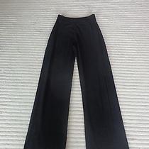 1160 Sonia Rykiel Womens Black Wool Blend Pull on Casual Pant Bottom 40/s  Photo