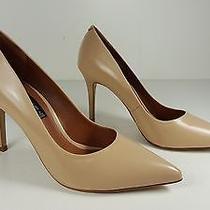 119 Size 9 Steven Shiela Nude Leather Heels Pumps Classics Womens Shoes Photo
