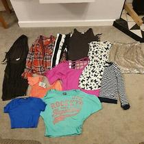11x Bundle Womens Crop Top Dress Skirt Shirt Leggings Superdry Zara Next Diesel  Photo