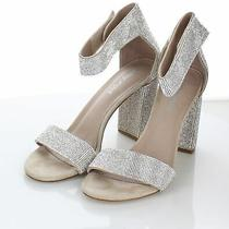 12-52 160 Women's Sz 8 M Jeffrey Campbell Lindsay Embellished Heel Sandal Photo