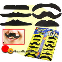 12 Fake Mustache Moustaches Mustaches Fancy Dress Party Photo