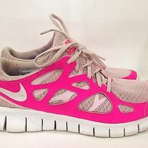 120 Nike Free Run Women's Running Shoes 443816-616 Hot Punch Prism Pink Sz 11 Photo