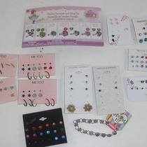 13 Pieces Fancy Nancy Me Too & Fashion Earrings Rings and Bracelet Girls Jewelry Photo