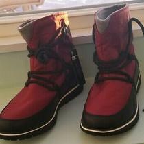 130  Sorel Sz 8m Cozy Explorer Journeys Waterproof Winter Boot Red Element Photo