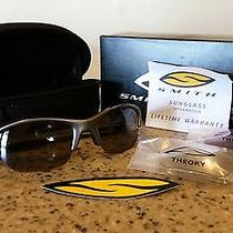 139.00 New Smith Optics Theory Polarized Sunglasses With Interchangeable Lens Photo