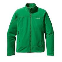139 Nwt Patagonia Men's Adze Softshell Jacket Small Green New Photo