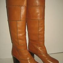 1395 New Chloe Eur 38 Fit Us 6 7 Tuscan Patchwork Leather Knee-High Boots  Photo