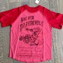 14.95 Gap Kids Dearedevils Red Tshirt - Size Xs 4-5 Photo