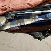 14 Shirts Clothes Lot Gap Express Banana Republic Hard Rock Old Navy Medium Photo