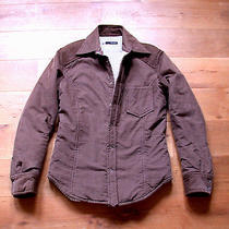 1400  Dsquared Jacket Tufted Cordroy Velvet Over Shirt Cut Down Feeling48 38 M Photo
