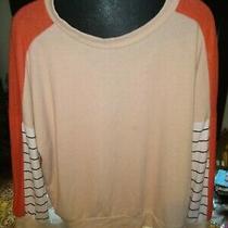 143 Story Blush/coral Soft Sweatshirt Medium  Photo