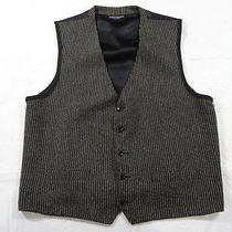 1456 Yves Saint Laurent Suit Vest Mens Xl Photo