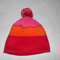 147 Gap Heavy Duty Kids Hat Size S/m One Size 6-7-8 Years Old Orange Red Pink Photo