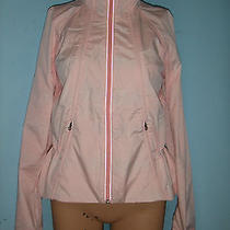 148 Lululemon Run Travel to Track Jacket 6 Blush Quartz Silver Shimmer Sparkle Photo