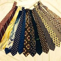 15 High End Designer Ties Necktie's Talbot Behar Ysl Tyrwhitt Uomo Boss Polo Photo