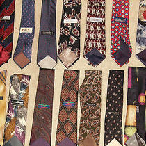15 Vtg Mens Neck Tie Lot100% Silkhigh End Designergivenchydiordon Loper Photo