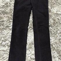 150 Diesel Straight Slim Leg Low Rise Plum Stretch Velvet Pants Jeans Sz 27 - S Photo