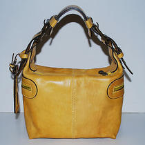 1500 Chloe Italy the Camera Bag Leather Yellow Vintage Style Handbag Photo