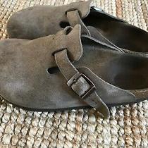 155 Birkenstock Size 36 5 Women Boston Leather Clogs Shoes  Photo