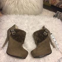 156 Nwob Guess Wgrusset High Heel Ankle Boots 7 Photo