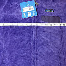 159 New Womens Small Patagonia Re-Tool  Full-Zip Hoodie Violetti Tempest Purple Photo