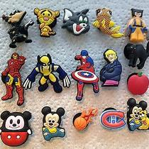 16 Pc Shoe Charms Fits Crocs Mickey Mouse Avengers Lego Shoe Charms for Boys Photo