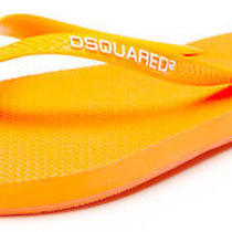 160 Dsquared2 Vogue Runway Flip Flops Neon Free Us Ship 42 Eu 9 Us Reg 160 Photo