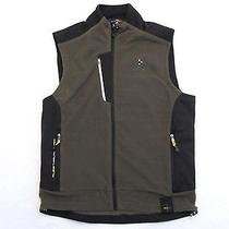 165 Rlx Ralph Lauren Green Micro Fleece Vest M Photo