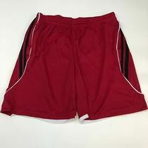 17 Elements Athletic Shorts Men's Size 2xl Xxl Red Black White Cross Training Photo