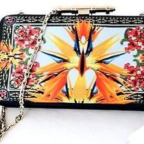 1700 Givenchy Obsedia Minaudiere Bird of Paradise Clutch on Chain Crossbody Bag Photo