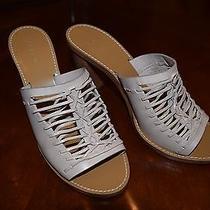 178.00 Marlow Huarache Mules Sandals Item C0562 Light Blush Pink Size 9.5 Photo