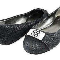 178 Coach London Glitter Snake Cc Logo Ballet Flats Slip on Moc Womens Shoe 5.5 Photo