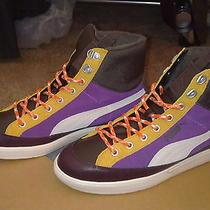 179 Nib Authentic Puma Man's Multi-Colored Athletic Sneakers sz.9.5d Free s&h Photo