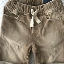 18 24 M Baby Gap Kids Tan Denim Jean Stretch Pull on Shorts Boy Toddler Nwtt Photo