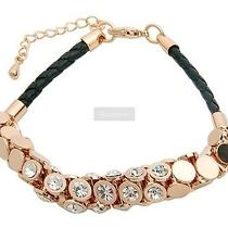 18 K Rgp Swarovski Elements Fine Jewelry Bracelet  Photo
