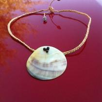18 New Mother of Pearl Hawaiian Round Shell Necklace Photo